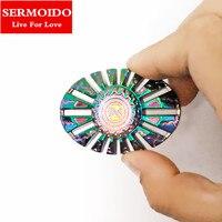Tri Fidget Hand Spinner Metal Triangle Zinc Alloy Puzzle Finger Toy EDC Focus Fidget Spinner ADHD
