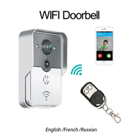 2015 Popular WiFi Wireless Video Door Phone Intercom Doorbell Peehole Camera PIR IR Night Vision Alarm