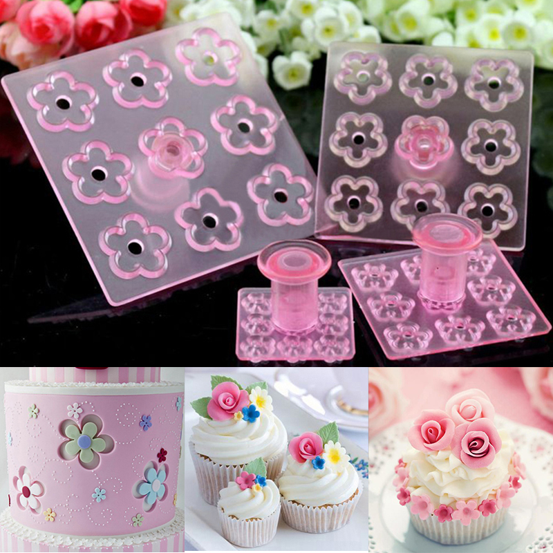 Kitchen accessories 4pcs Rose Flower Cake decorating tools ...