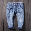 Boys Jeans Washed white old pants Kids pepe jeans Children's clothing Retro casual 2015 New tigor kd 7 calca jeans masculina