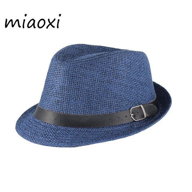 432f5aca Miaoxi a estrenar gorras de verano para niños sombrero de sol para niños de  papel de paja Casual gorra de playa de moda SN-009