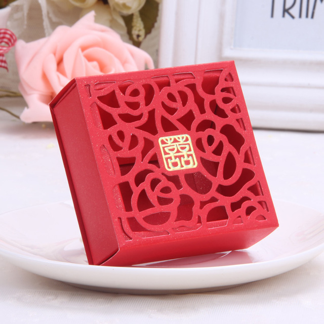 Wedding Favor 20 Pcslot Factory Directly Sale Pierced Rose