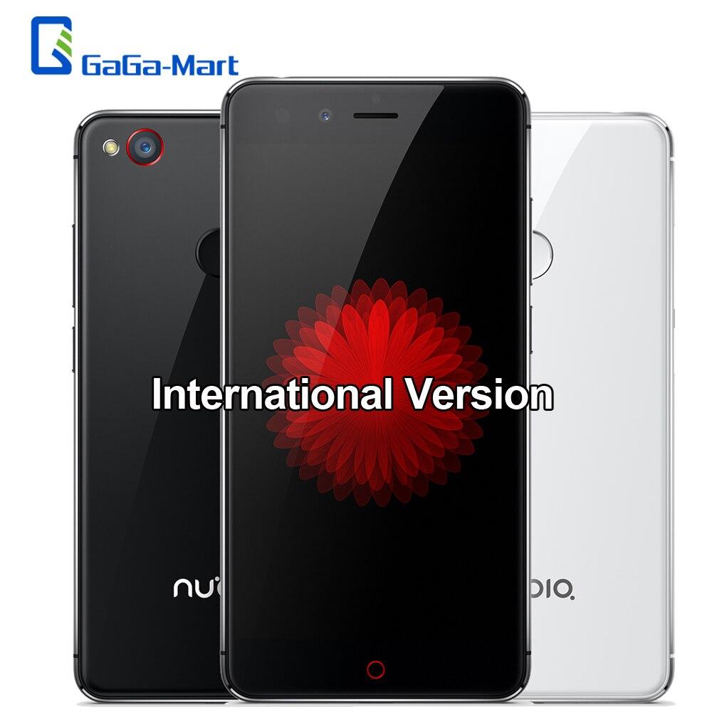 """Цена за Международная Версия Nubia Z11 mini 4 Г Смартфон Android 5.1 Qualcomm 616 Окта основные 3 ГБ + 32 ГБ 16MP Отпечатков Пальцев 5.0 """"мобильный телефон"""