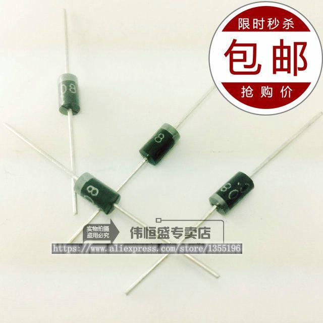 20pcs/lot HER505 DO-41 Line 5A / 500V Efficiency Rectifier