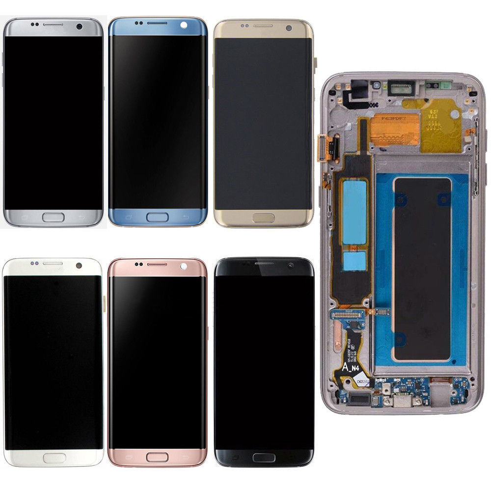 Sinbeda For Samsung Galaxy S7 Edge G935 G935F G935A LCD Display Touch Screen Digitizer Assembly Frame For Samsung S7 Edge LCDSinbeda For Samsung Galaxy S7 Edge G935 G935F G935A LCD Display Touch Screen Digitizer Assembly Frame For Samsung S7 Edge LCD