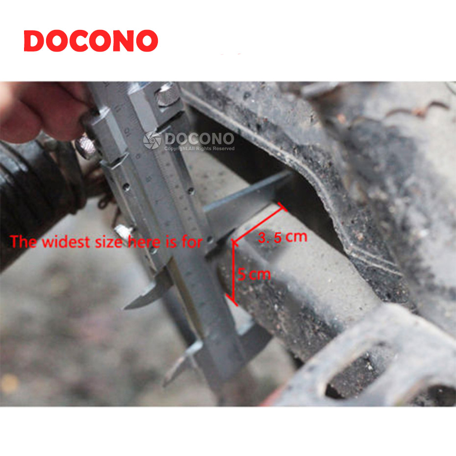 small resolution of docono adjustable aluminum chain tensioner bolt on roller motocross for motorcycle dirt street bike atvs banshee chopper in sprockets from automobiles