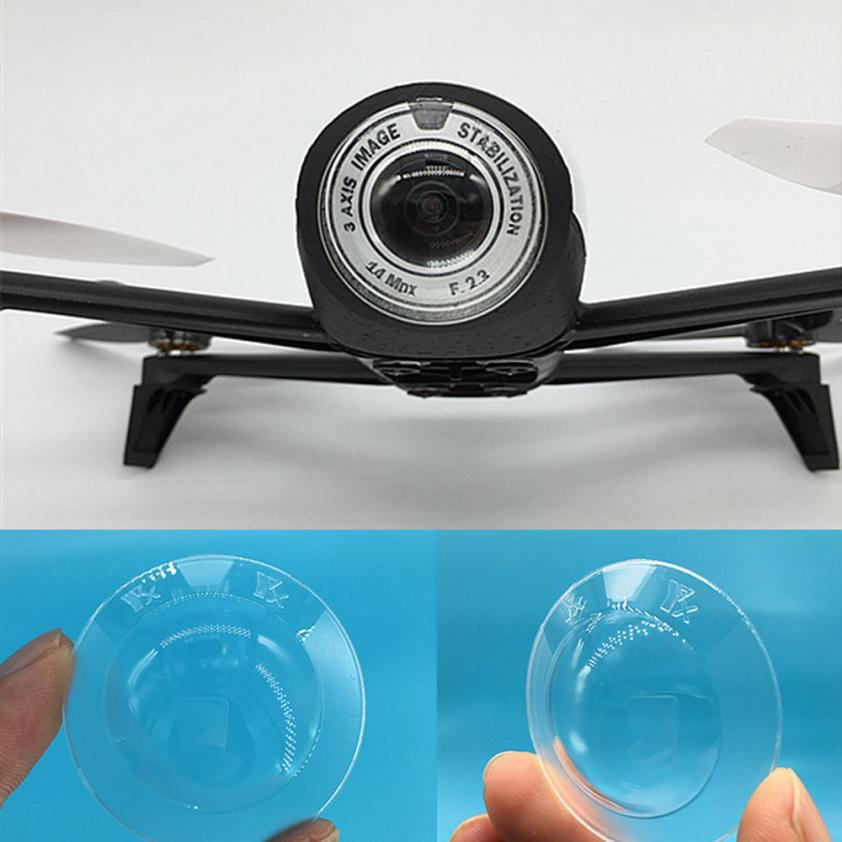 Anti-dust Proof For Parrot Bebop 2 Drone Camera Lens Cover Protector Transparent 6.1 sere