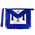 Астер масоны масонской фартук Синий домик кожаный квадрат и компас для масоны отличный подарок для масонов