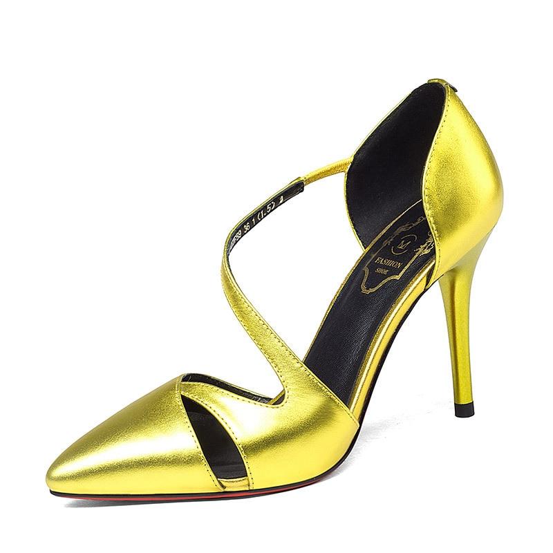 ФОТО Red Bottom Brand Shoes Woman High Heels Women Pumps Thin Heel Women's Shoes Pointed Toe High Heels Wedding Shoes Size 34-39