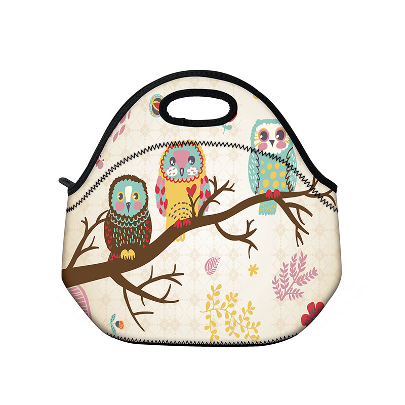 Birds Women S Lunch Bag Th Fermal Insulated Lunch Box For