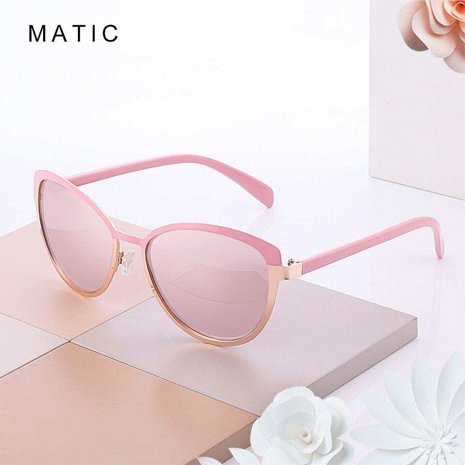 MATIC Rosa Piloto Retro óculos de Condução Do Vintage Gradiente Óculos De Sol Para Mulheres Elegantes Senhoras Maquiagem Olho de Gatos Do Carro óculos de Sol Óculos