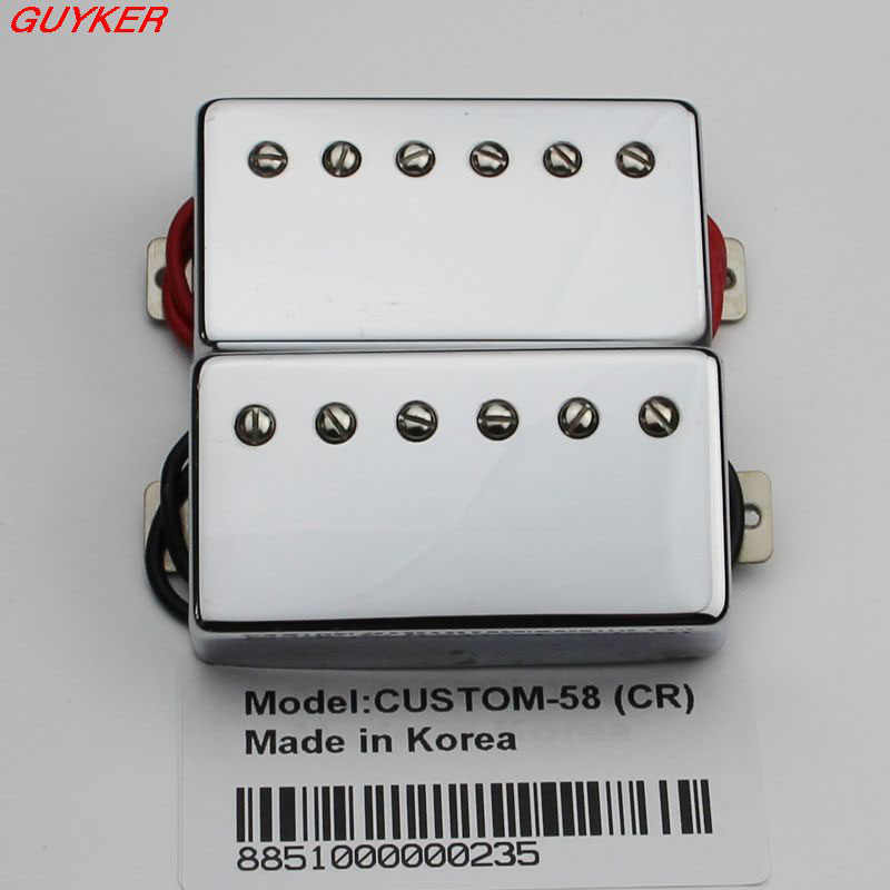 CUSTOM-58 Humbucker gitara lp Pickup Chrom