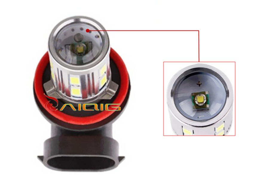 H11 12 SMD 5630 HIGH POWER CREE LED Car Fog Bulbs VW