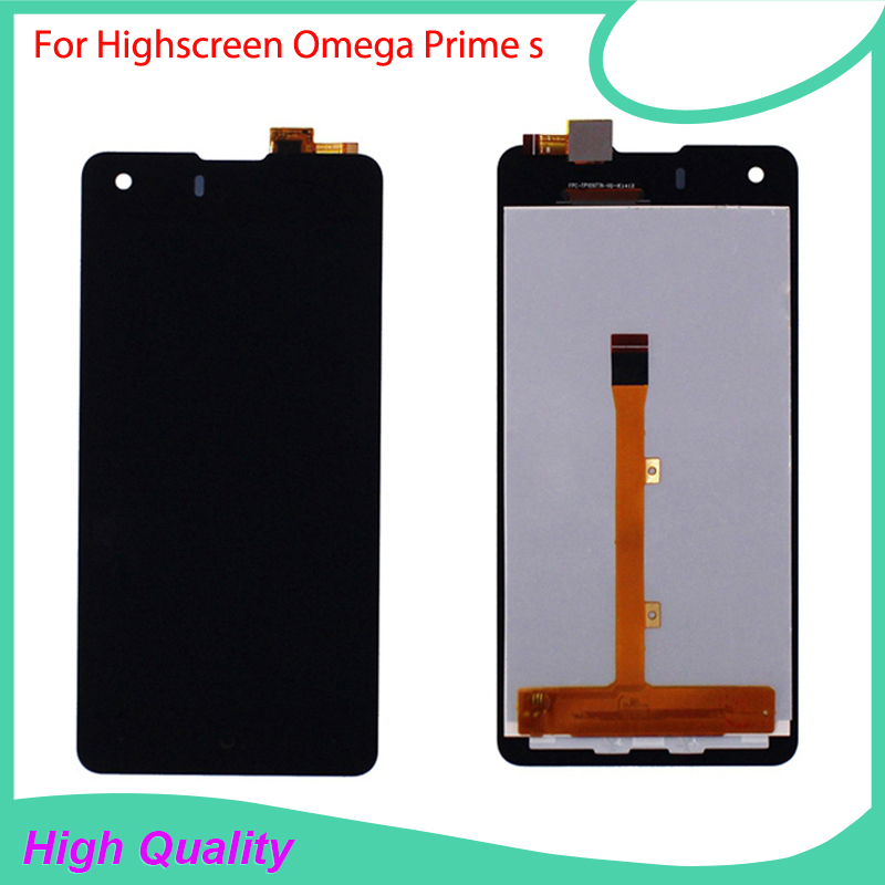 LCD Display For Highscreen Omega Prime s FPC9231t Touch Screen Black Color Mobile Phone LCDs