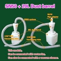 Cyclone SN50 + 20L Dust barrel (1 picec)