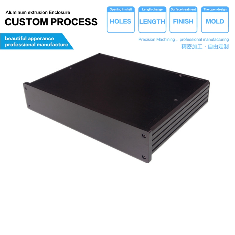 180*45-250mm (w x h -d free) aluminum chassis front a power amplifier/Power Amplifier Amp decoding aluminum chassis 3206 amplifier aluminum rounded chassis preamplifier dac amp case decoder tube amp enclosure box 320 76 250mm