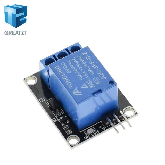 GREATZT 1pcs KY-019 5V One 1 Channel Relay Module Board Shield For PIC AVR DSP ARM for arduino Relay