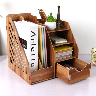 wooden home office. Home Office Storage Desk Organizer Wooden File Shelf Magazine Rack Book  Ends Document Box With Wooden Home Office D