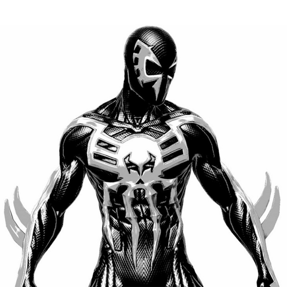 Spider Man 2099 Miguel O Hara Cosplay Superhero Spiderman Costume Adult Jumpsuit Spider Man Into the