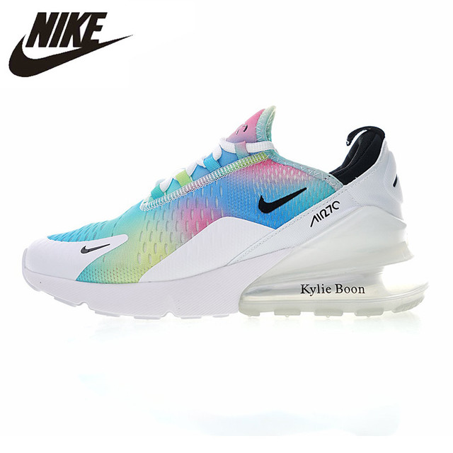 08f40897dc NIKE AIR MAX 270 Women's Running Shoes, White / Pink, Breathable  Lightweight Non-
