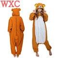 Anime Rilakkuma Oso Pijamas Cosplay Adulto Unisex Onesies ropa de Dormir Mameluco Para El Partido de La Mascarada de Halloween Carnaval WXC