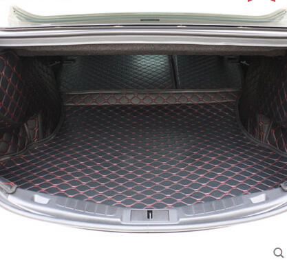 non slip easy clean wholy surrounded no ordor Special car trunk mats for FordFusion waterproof Easy to clean boot carpets