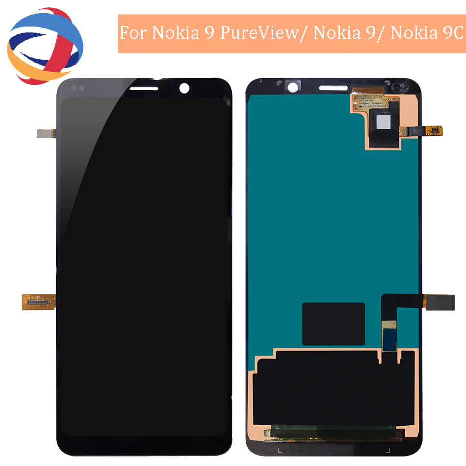 Tested Display For Nokia 9 PureView/ Nokia 9/ Nokia 9C LCD Display Touch Screen LCD Digitizer Replacment For Nokia 9Tested Display For Nokia 9 PureView/ Nokia 9/ Nokia 9C LCD Display Touch Screen LCD Digitizer Replacment For Nokia 9
