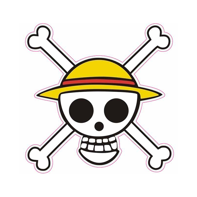 Cartoon Stickers - One Piece - Fixed Gear/Luggage/Guitar/Motor/Cars/Refrigerator Waterproof Reusable ONEPIECE Sticker