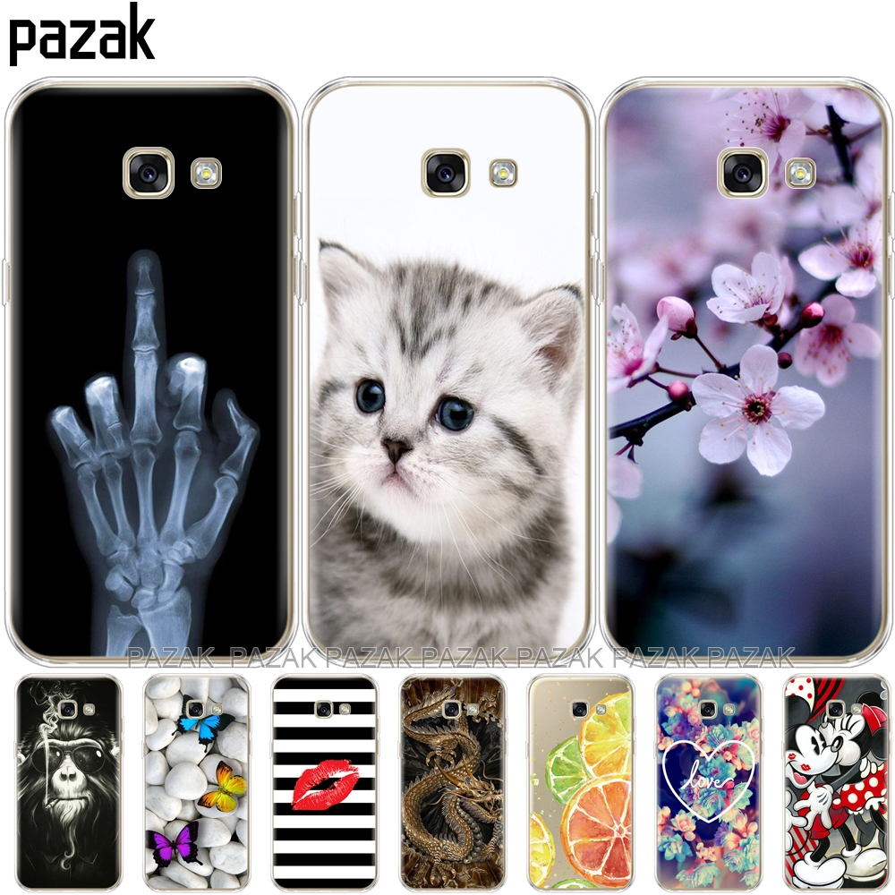 Silicone Phone Case For Samsung A5 2017 Cases For Samsung Galaxy A5 2017 SM-A520F Cover Das For Samsung Galaxy A5 2017 New Pop