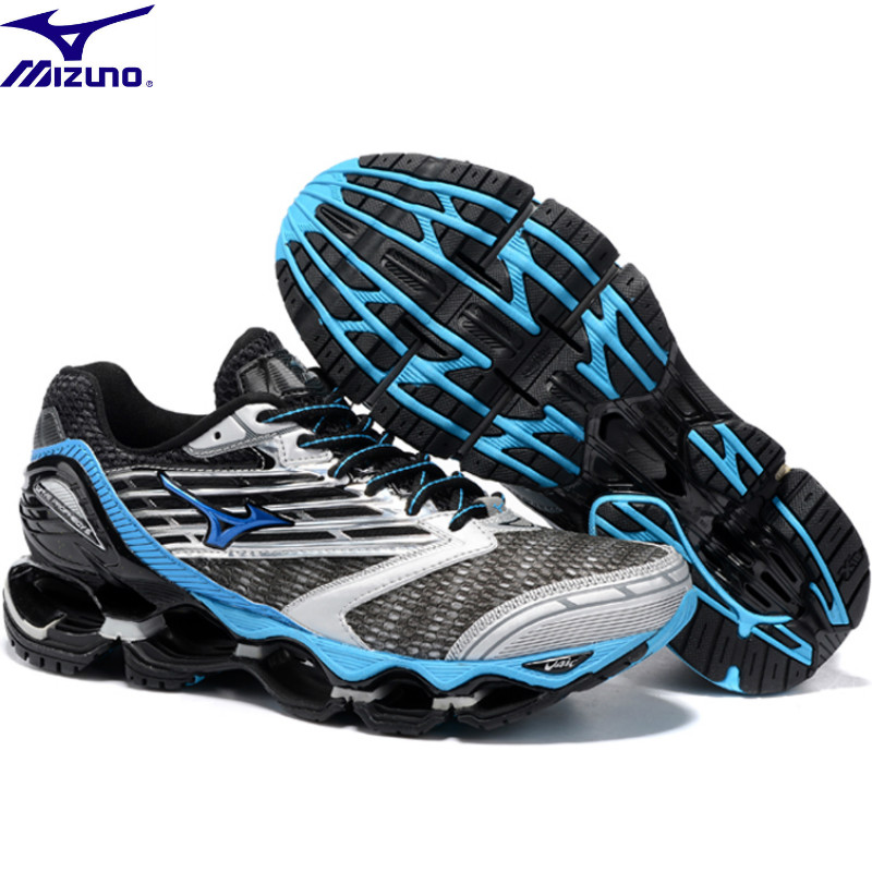 Mizuno Wave Prophecy Breathable 5 sports 6 Colors Mens Shoes Breathable Mesh Sports Weightlifting Shoes Size 40-45Mizuno Wave Prophecy Breathable 5 sports 6 Colors Mens Shoes Breathable Mesh Sports Weightlifting Shoes Size 40-45