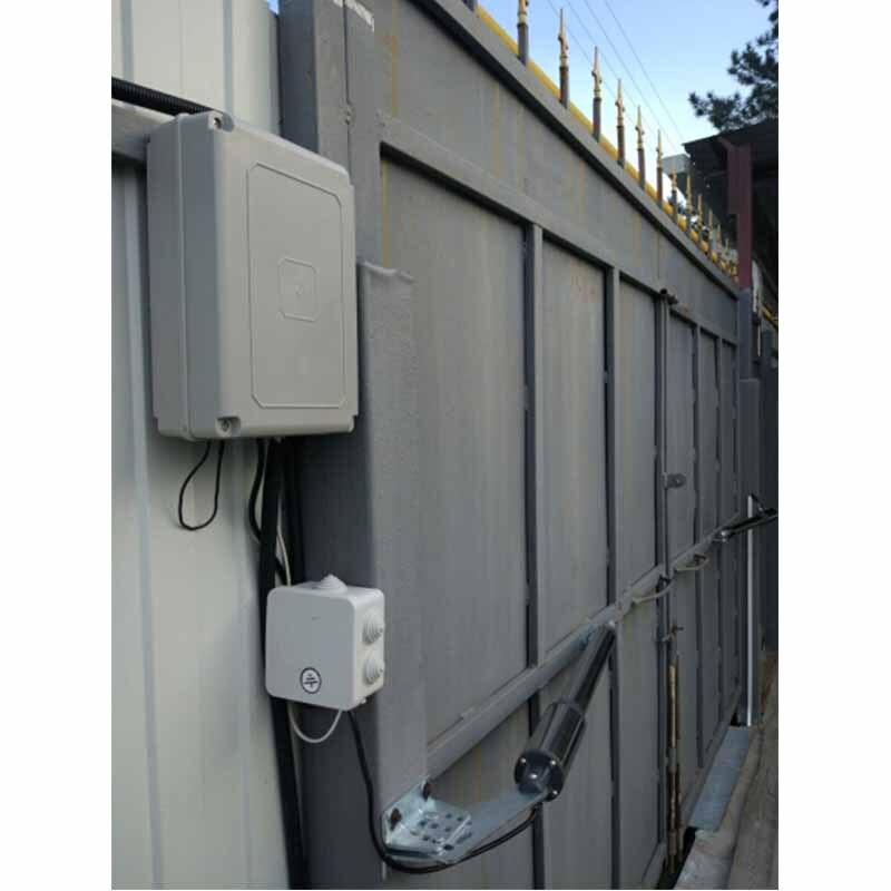 Galo duplo uso doméstico automático à prova d' água 300 kg de porta dupla swing portão abridor kit cor Opcional (óleo Anticongelante tem foi adicionado) - 4