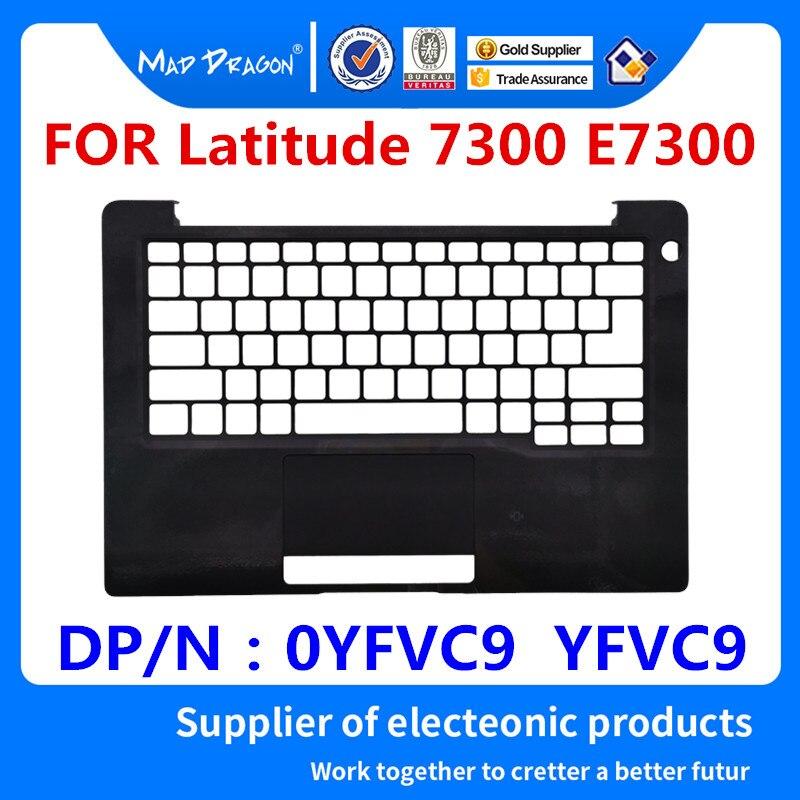 MAD DRAGON tout nouveau ordinateur portable Palmrest couvercle supérieur boîtier supérieur noir C shell pour Dell Latitude 7300 E7300 YFVC9 0YFVC9 AP2ED000113