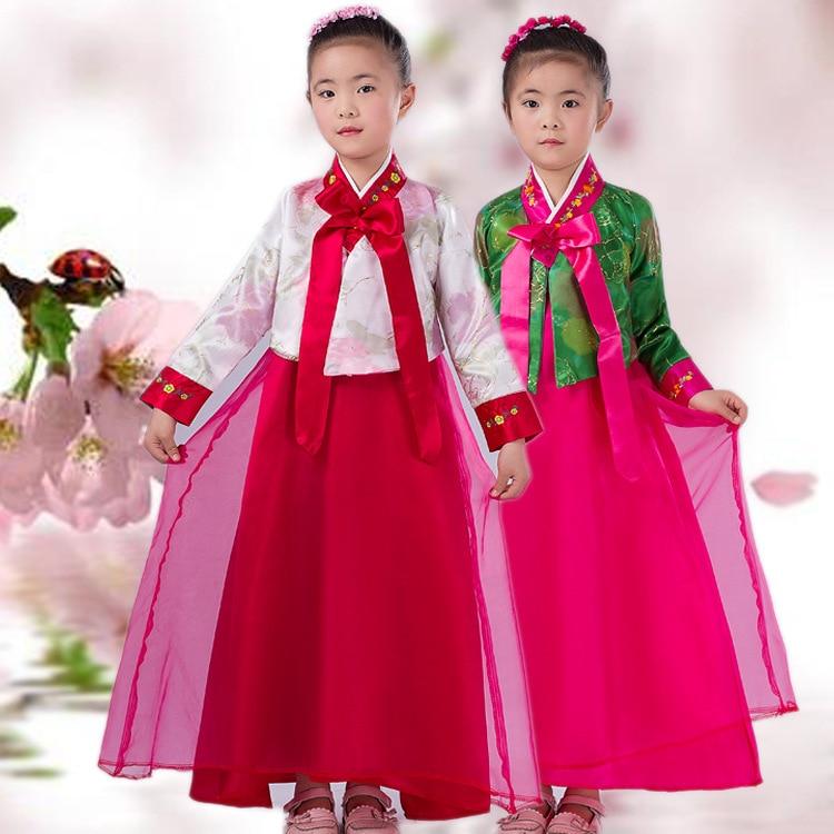 Aliexpresscom  Buy Kids Korean Traditional Girls Hanbok