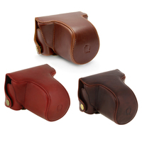 MAHA For Pentax Q Q10 Camera Case 8 5mm 5 15mm Lens PU Leather Case Camera