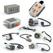 1pcs City Technic Building Blocks Parts Motor Train LED Light Remote Receiver Switch Power Functions 8879 20053 20076 88004