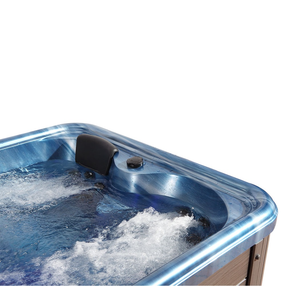 Hot sale 3 People Spa Tubs made in China deluxe outdoor whirlpool ...