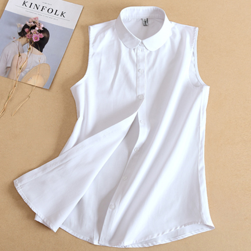 2018 New Fashion Blouse Top Women Clothes Shirt Sweater Necktie Collar White Fake Collar Removable Detachable Peter Pan Collier