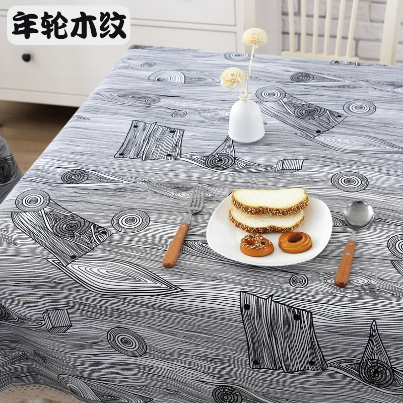 Cotton And Linen Rough Wood Grain Table Cloth Fabric Pastoral Small Fresh Coffee  Table Round Table Tablecloth Custom In Tablecloths From Home U0026 Garden On ...