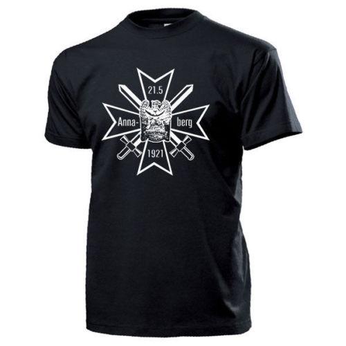 Annaberg Kreuz des Freikorps Oberland Schlesien Wappen Orden - T Shirt #14604