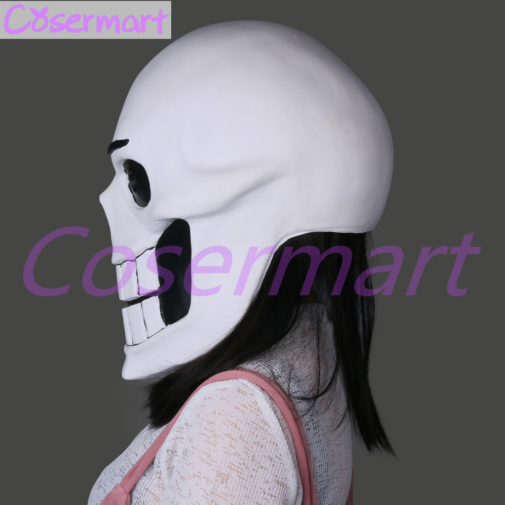 Hot Game Undertale Mask Hard Latex Cosplay Papyrus helmet Full Head Masks Halloween Party Prop (7)