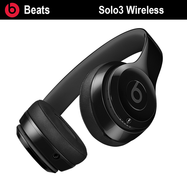 Original Beats Solo3 Wireless Solo 3 Bluetooth On-ear Headphone Fast Charge  Anti Noise Professional 1d6923949