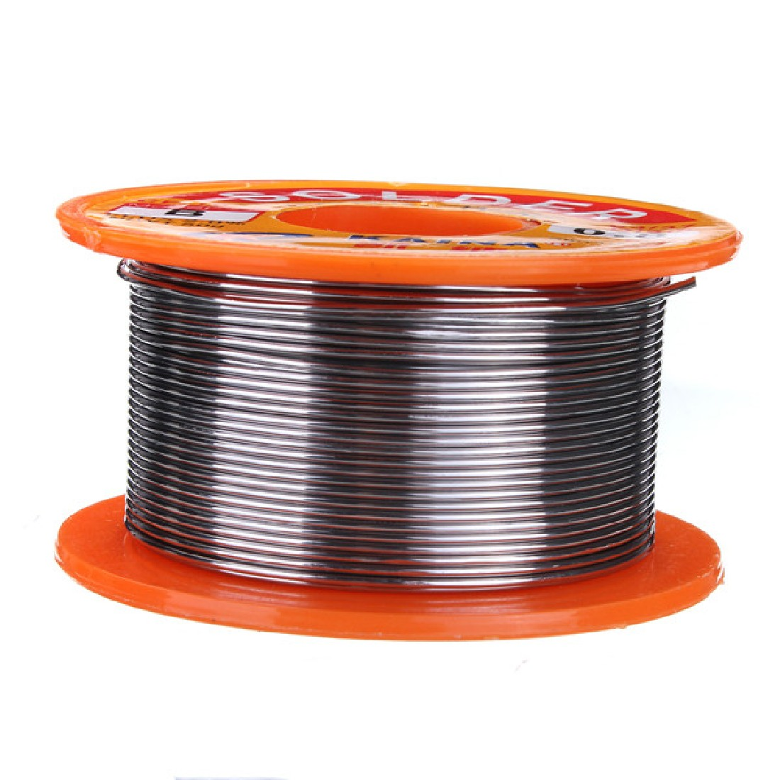 No-clean Tin 0.8mm Rosin Core Tin/Lead 0.8mm Alloy Rosin Roll Flux Solder Wire Reel Welding Line Solder Wire Clean Rosin Core