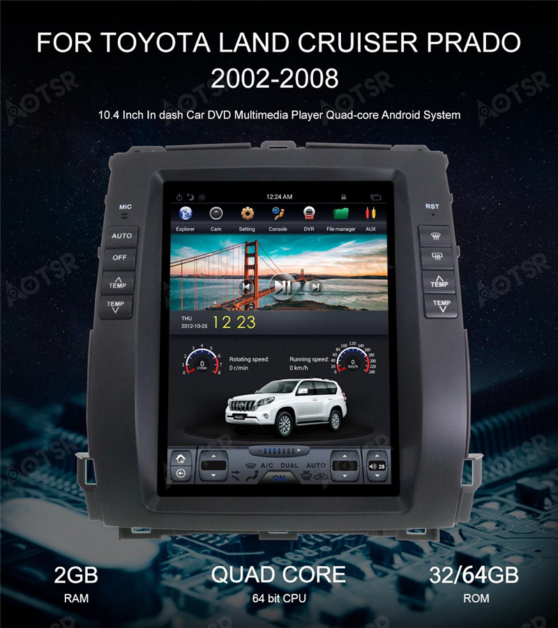 Discount Android 7.1 Car GPS Navigation car DVD Player For KIA Sportage 2016+ Tesla style radio tape recorder auto headunit multimedia 8