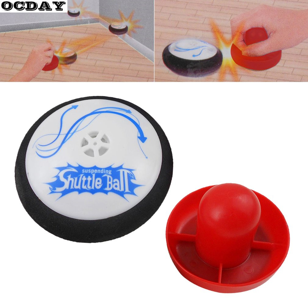 New Suspending Electric Shuttle Ball Funny Mini Hockey Fun Game Pretend Play Classic Toys Popular Family Board Outdoor Game Gift