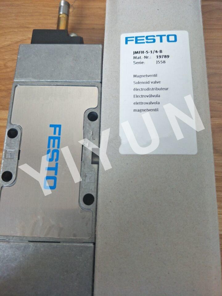 JMFH-5-1/8-B 30486 JMFH-5-1/4-B 19789 JMFH-5/2-D-S-C-EX 535968 FESTO Solenoid valve Pneumatic components pc400 5 pc400lc 5 pc300lc 5 pc300 5 excavator hydraulic pump solenoid valve 708 23 18272 for komatsu