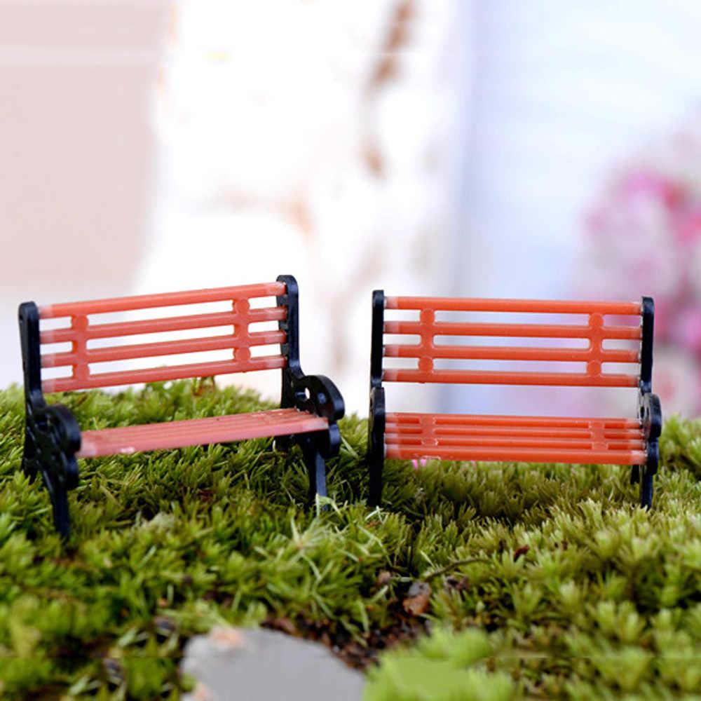 10 шт. современный масштаб ручной работы модель Bench парк уличная сцена 1:150