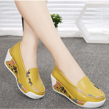2018 New Fashion Womens Flats Summer Shoes Slip On Lady aa0764