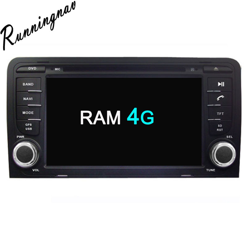 Android 8.0 Octa Core PX5/PX3 Fit AUDI A3 2003 - 2010 2011 2012 2013 2014 2015 Car DVD Player Navigation GPS Radio