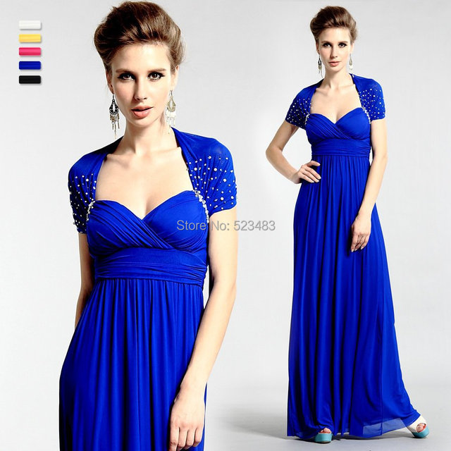 Plus Size Mother Of The Bride Royal Blue Dresses Women Formal