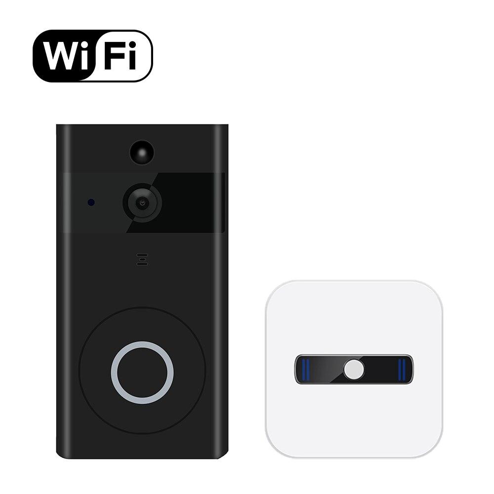 Anel Campainha Com Câmera Wi-fi Campainha Revisão Inteligente e APP